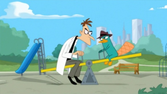 Doof_and_Perry_on_a_Seesaw