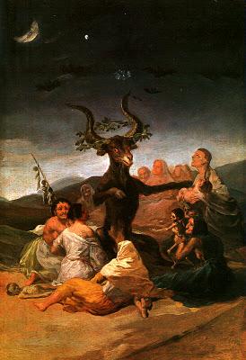 GOYA El_Aquelarre_(1797-1798)