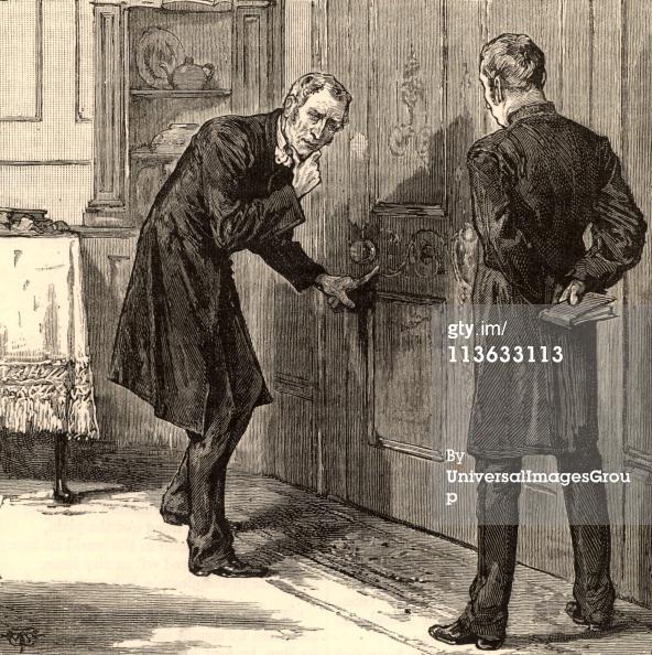 Charles Dickens | Con un vaso de whisky