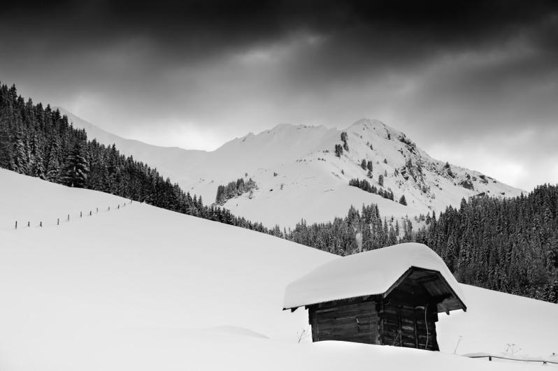snow-hut