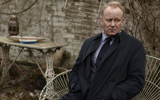WARNING: Embargoed for publication until 10/11/2015 - Programme Name: River - TX: n/a - Episode: River (No. Ep 6) - Picture Shows: **STRICTLY EMBARGOED UNTIL 00:01HRS, TUESDAY 10TH NOVEMBER, 2015** John River (STELLAN SKARSGARD) - (C) Kudos - Photographer: Nick Briggs